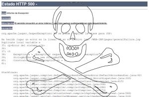 Error 500: System failure